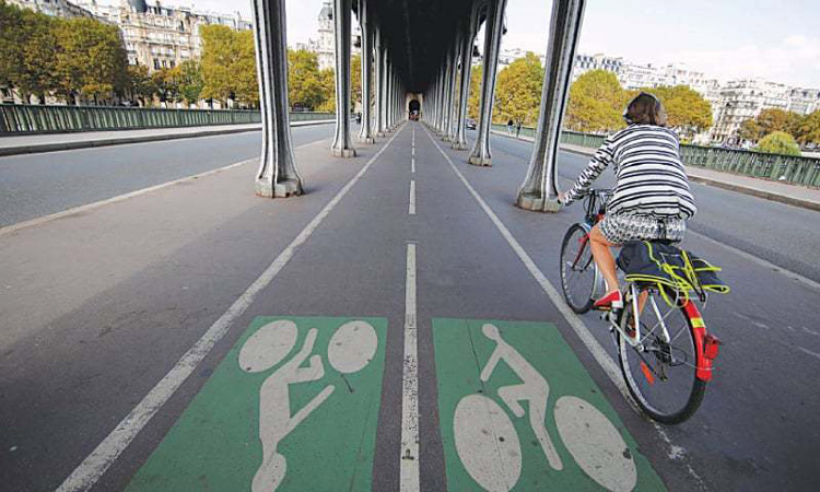 ciclovias Paris